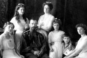 O fuzilamento dos Romanov, a família real da Rússia