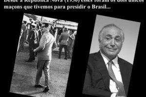 HISTÓRIA E ESTÓRIAS DOS PRESIDENTES MAÇONS NO BRASIL