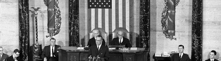 Lyndon Baines Johnson. Irm.