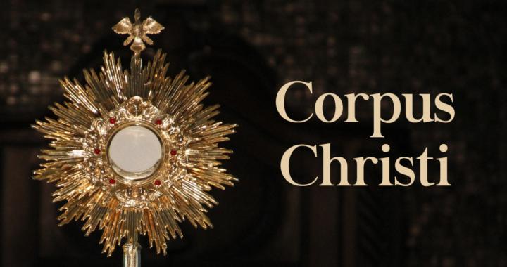 O dia de Corpus Christi.